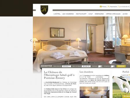 Château Hôtel Golf Pontoise - Ennery - Château...