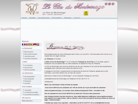 Hôtel - Restaurant - Aisne: Le Clos du...