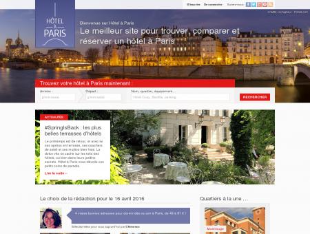 Hôtel à Paris, le site de référence pour trouver...
