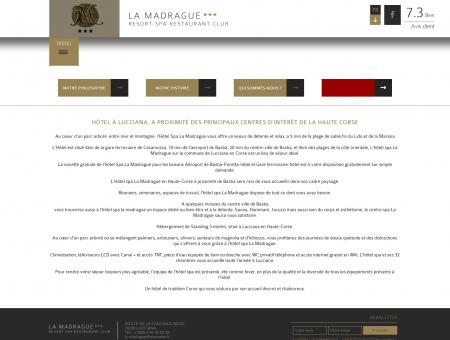 Hotel Lucciana à proximité de Bastia | La...