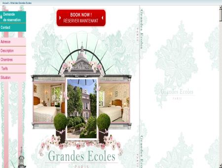 Hotel des Grandes Ecoles - Paris - France...