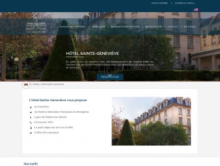L'hôtel Sainte-Geneviève situé au cœur du...