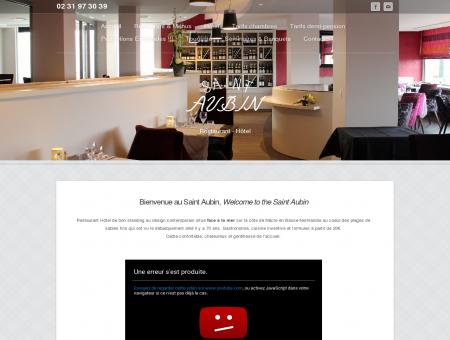 Hôtel Saint Aubin - Hotel** et restaurant à...