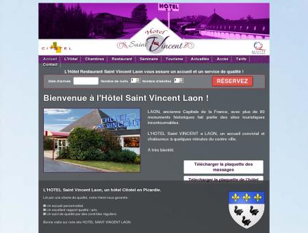 HOTEL St Vincent à LAON accueil et services...