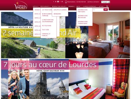 Hôtels 3 et 4 étoiles à Lourdes - Hôtel Vinuales