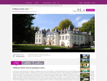 Hôtel Château Saint-Just , hôtel de charme...