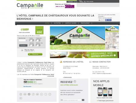 Hotel Campanile CHATEAUROUX - Saint Maur...