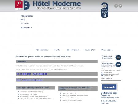 Hotel Saint Maur - HOTEL MODERNE : hotel...