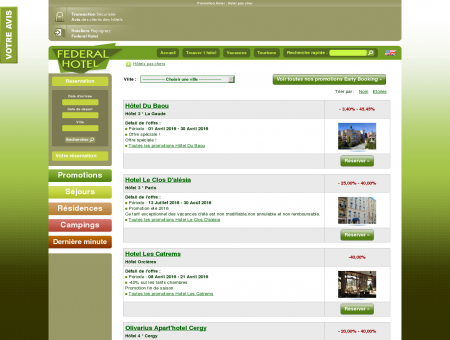 Promotion Hotel : Hotel pas cher - Hotels...