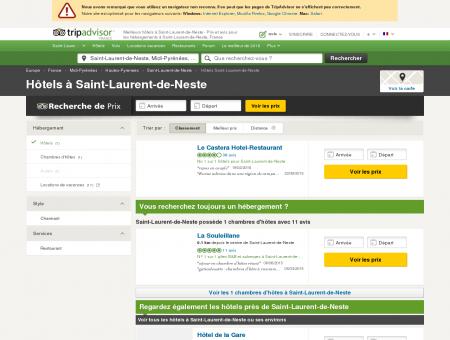 Les meilleurs hôtels à Saint-Laurent-de-Neste...