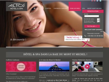 Hotel Mont Saint Michel : Inter Hôtel Altos ***