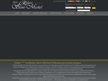 Le Relais Saint Michel - Hotel 4 etoiles Mont...