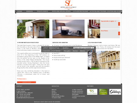 HOTEL SAINT LAURENT - OFFICIAL WEBSITE - 3 STAR HOTEL ...