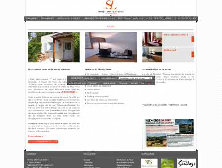 HOTEL SAINT LAURENT - SITE OFFICIEL -...