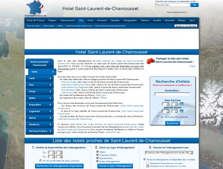 HOTEL SAINT-LAURENT-DE-CHAMOUSSET :...