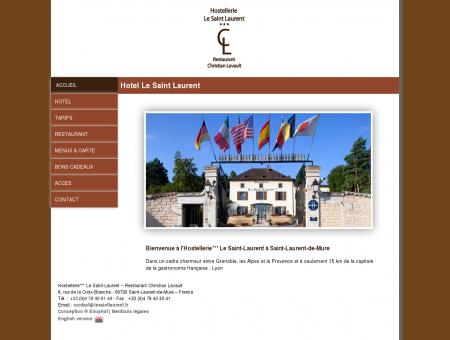 Hotel Le Saint Laurent Hotel entre Lyon et...