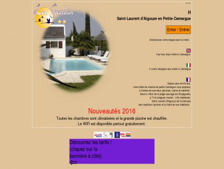 Hôtel LOU GARBIN à Saint-Laurent d'Aigouze...