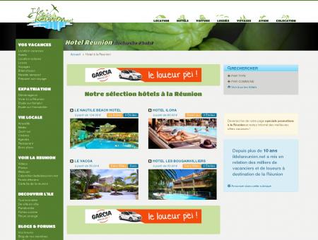 Hotel à La Réunion