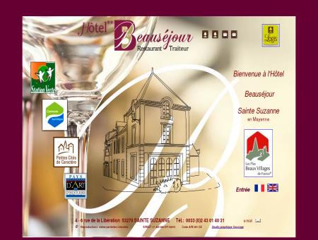 Hôtel Beauséjour Sainte Suzanne,