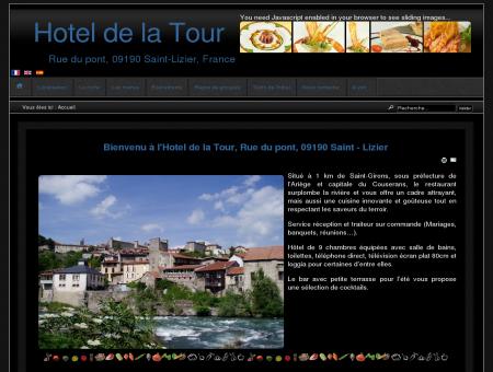Hotel de la Tour - Accueil