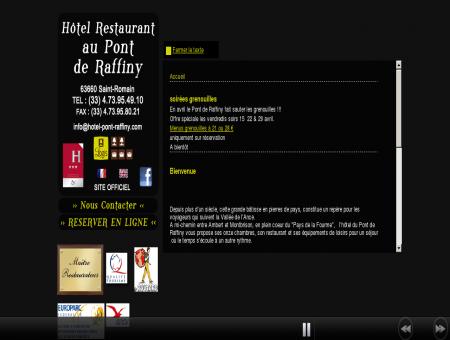 HOTEL AU PONT DE RAFFINY - Hôtel Logis...