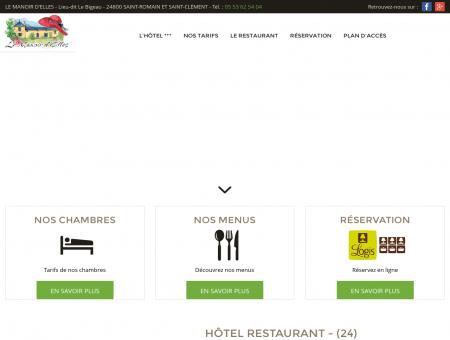 Hôtel / restaurant Thiviers (24) - LE MANOIR...