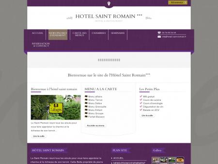 hotel saint romain *** | Hôtel & Restaurant
