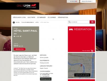 Hôtel Saint-Paul - Lyon 5ème - Office du...