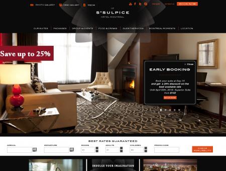 Luxury Hotel Montreal - Hôtel le Saint-Sulpice
