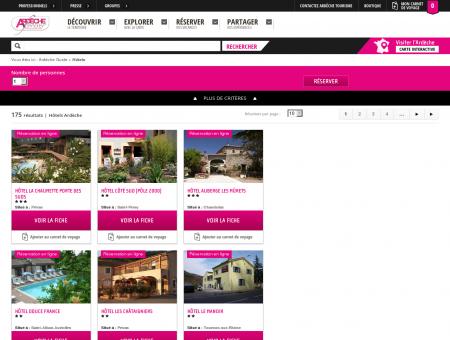 Hotel Ardèche : réservation d'hôtels en...
