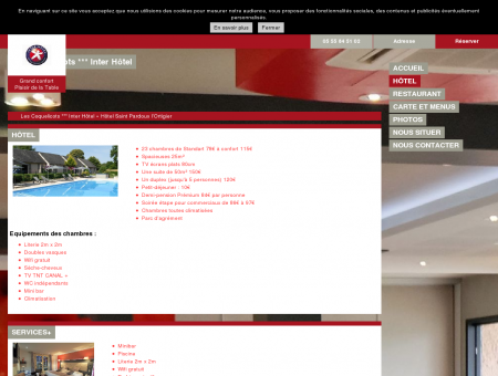 Hôtels Saint Pardoux l'Ortigier - Les...