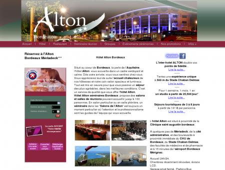 Hotel Alton Bordeaux Mériadeck, CHU...