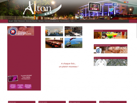 Inter-Hotel Alton Bordeaux Mériadeck, CHU...