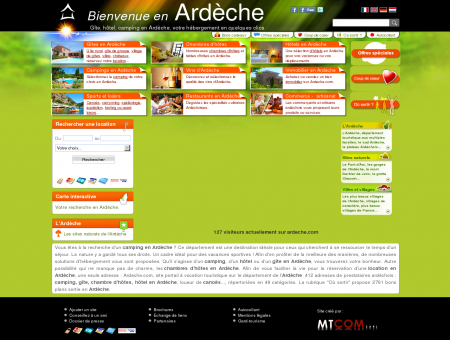 Gite Ardèche, camping Ardèche, chambre...