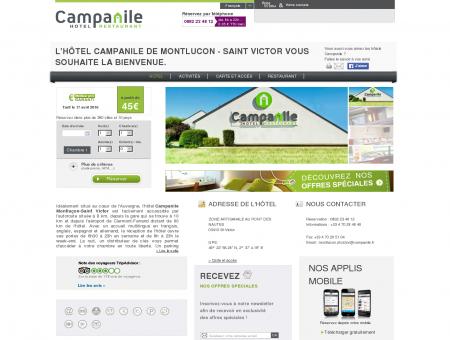Hotel Campanile MONTLUCON - Saint Victor -...