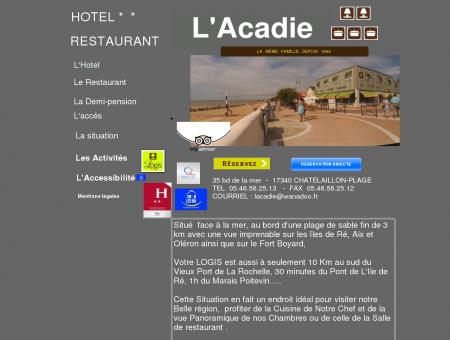 hotel acadie
