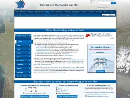 HOTEL SAINTE-MARGUERITE-SUR-MER :...