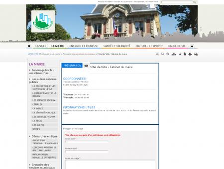 Hôtel de Ville - Cabinet du maire / Annuaire...