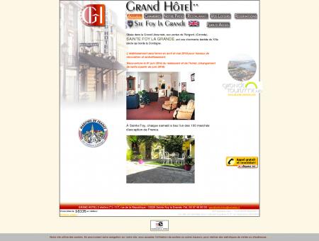 Grand Hotel à Sainte Foy La Grande