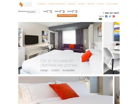Hôtel Sépia | Hôtel 4 étoiles | Sainte-Foy | Ville...