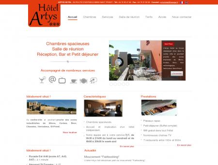 Accueil - Hôtel Artys