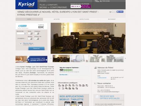 Hotel Eurexpo Lyon SAINT PRIEST - Reserver...