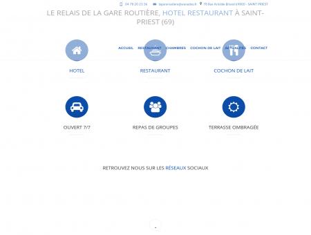 Hotel Lyon - LE RELAIS DE LA GARE ROUTIERE...