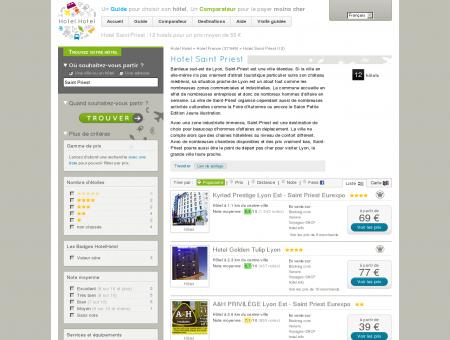 Hotel Saint Priest : 12 hotels pour un prix...