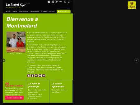 Hôtel restaurant Le saint Cyr - site officiel