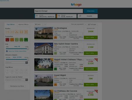 10 Hôtels à Saint-Omer - Hôtels à Saint-Omer jusqu'à -78%.