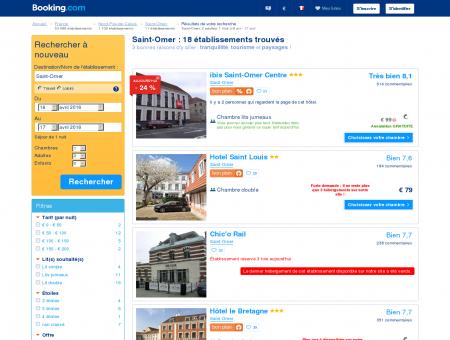 5 Hôtels à Saint-Omer - Meilleur tarif garanti !