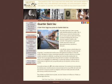 Hotel a Amiens : Quartier Saint leu