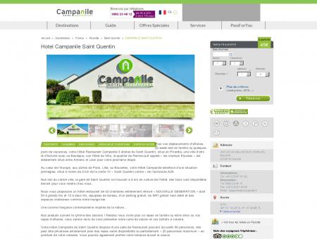 Hotel Campanile Saint Quentin | Campanile