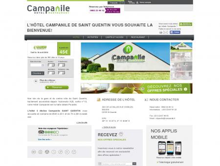 Hôtel CAMPANILE SAINT QUENTIN - Hôtel à...